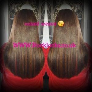 rocklocks hair extensions caramel slices