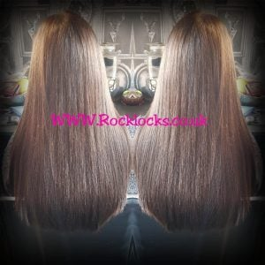 rocklocks hair extensions seriously shiny brunette
